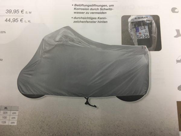 pokrivalo za motor Helc siv