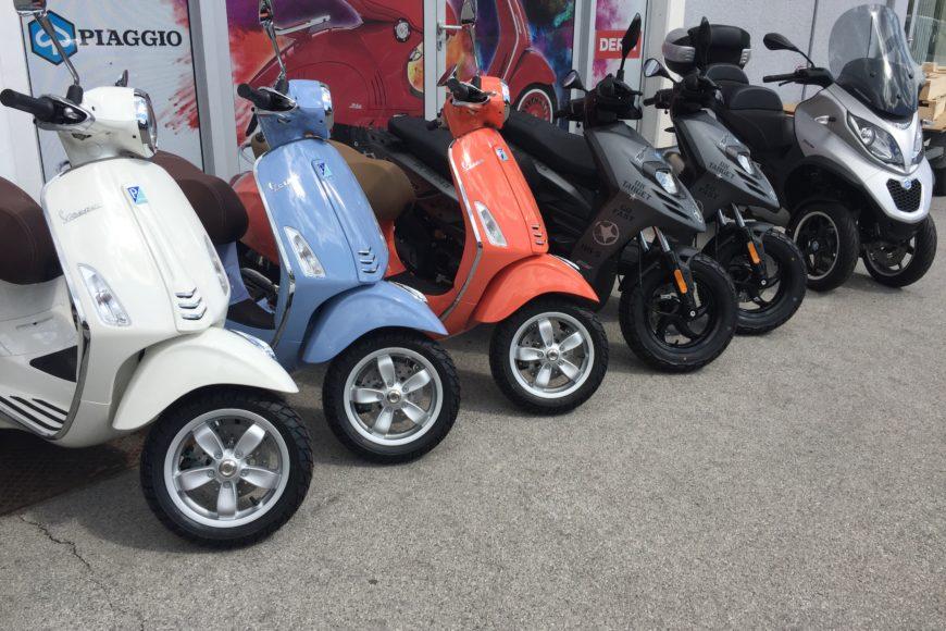 Popusti na Italijanske znamke motornih koles in skuterjev